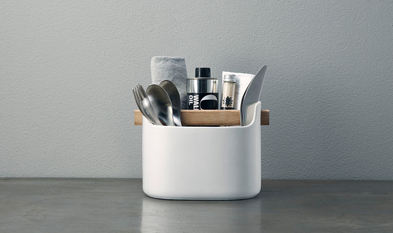 <p>The popular Toolbox is a useful organiser. Use it for utensils in the kitchen, flatware on the dining table, pencils on your desk or make-up and lotions in the bathroom.</p>