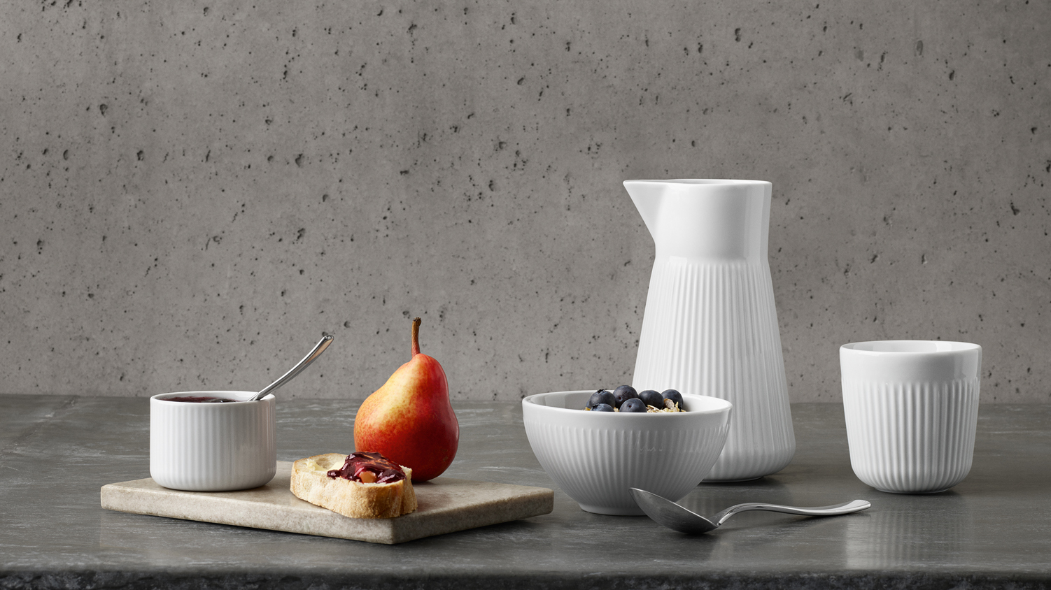 <p>The Legio Nova tableware consists of many different items. Find them all here.</p>