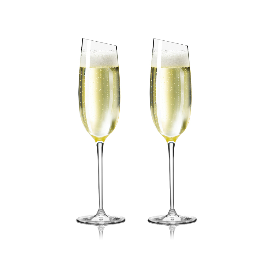 Champagne glass recept